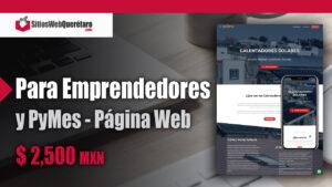 Página Web para Emprendedores económica